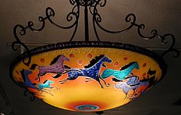 Ulla darni glass artist galleria silecchia ulla darni ulla darni multiple original horses e1627 aloadofball Images