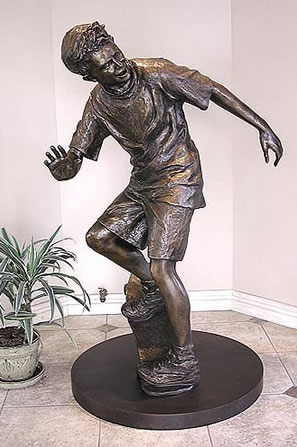 GLENNA GOODACRE BRONZE SCULPTURE OLLIE