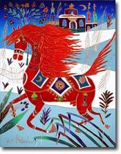 [JEU] A nous de trouver un nom ^^ - Page 2 Red_horse_in_my_villageTH