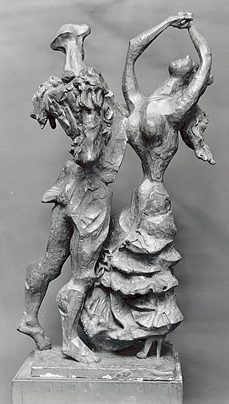 NATHANIEL KAZ - DANSE ESPAGNOLE - PERMANENT COLLECTION METROPOLITAN MUSEUM OF ART