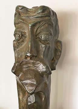 NATHANIEL KAZ - DON QUIXOTE - FACE AND HEAD DETAIL