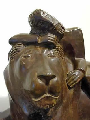 NATHANIEL KAZ - DANIEL AND THE LION
