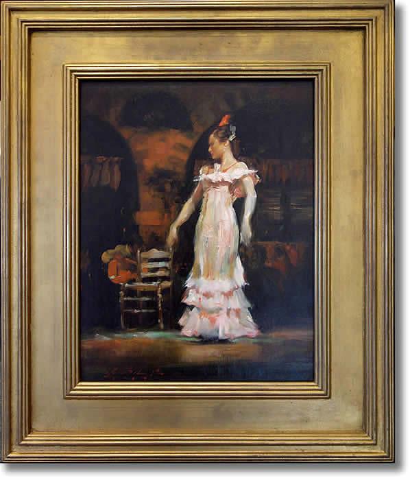 GLENN HARRINGTON - SPANISH DANCER I - FRAMED
