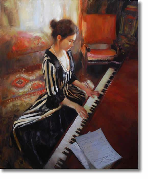 GLENN HARRINGTON MUSIC ROOM