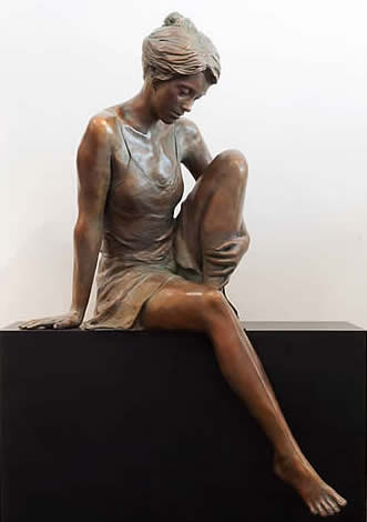 GLENNA GOODACRE NAIAD IV (SEATED)