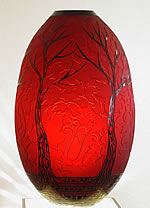 DUNCAN MCCLELLAN ART GLASS FALL