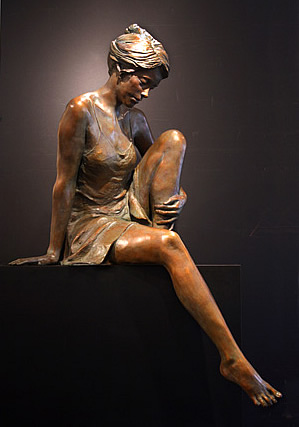 GLENNA GOODACRE SEATED NAIAD IV
